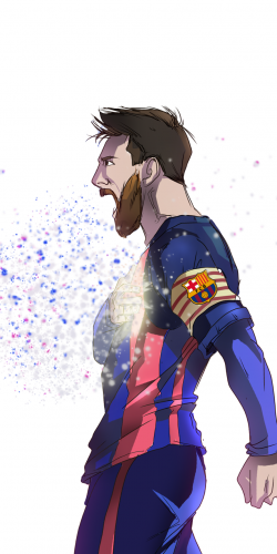 Messi Dibujo Barcelona Messi Tndt