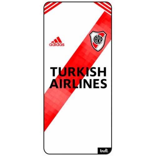 River Camiseta 2019 - 2020 Turkish Airlines