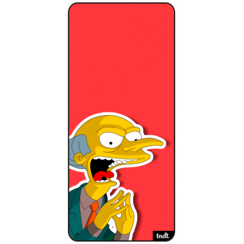 Los Simpson Mr Burns Muajaja