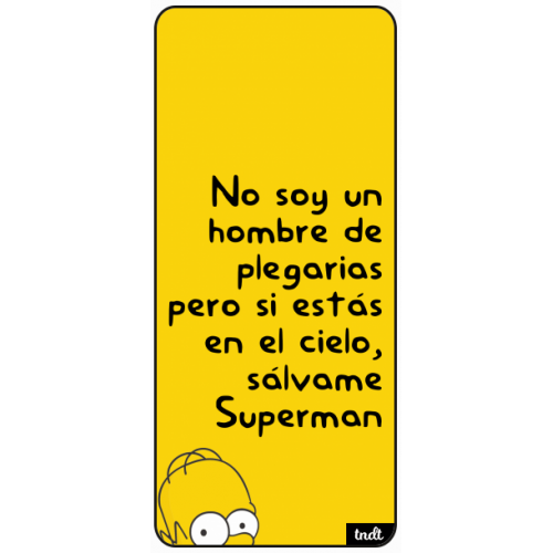 Los Simpson Frases Superman