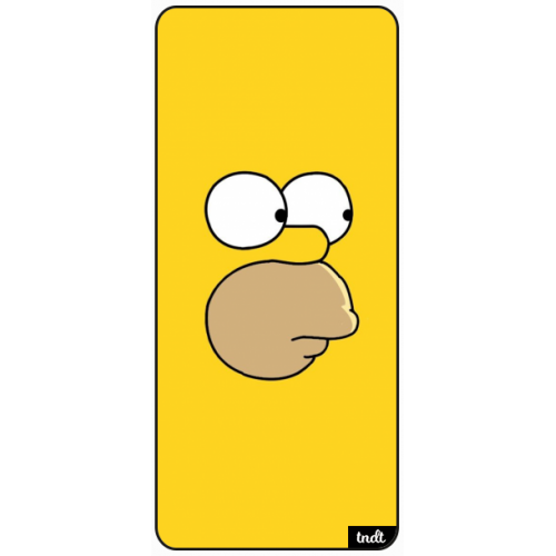 Los Simpson Homero Amarillo