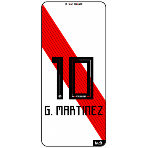 River Camiseta 2018 - 2019 G. Martinez